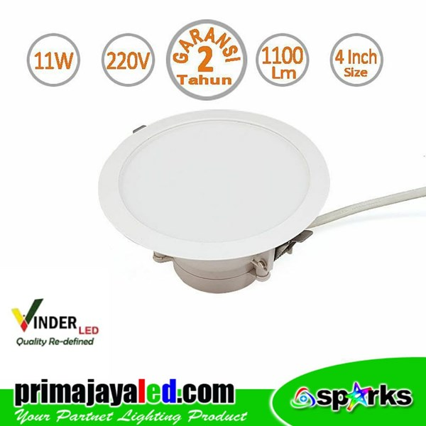 Vinder Downlight LED Ceiling 11 Watt