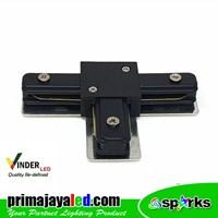 Vinder Connector Rell Track T Black