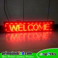 LED Running Text 101 X 21cm Red