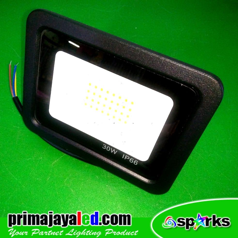 Jual Lampu Sorot LED 30 Watt Tipis Harga Murah Jakarta