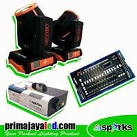 Lampu Panggung Paket Simple Lampu Beam 230 DMX 2024