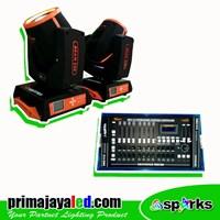 Lampu Panggung Paket Lighting Beam 230 DMX Pro