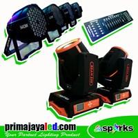 Lampu Panggung Paket Stage DMX Basic
