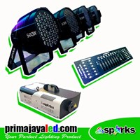 Lampu Panggung Paket Mini Stage Par LED Basic