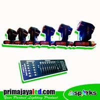 Lampu Panggung Paket Moving Beam 230 DMX Basic