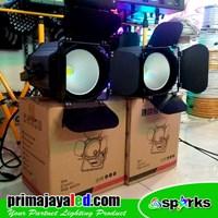 Lampu Panggung Paket Double Set New Fresnel 200w Spark