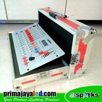 DMX Lights Controller 512 Mixer 240 Spark Hardcase