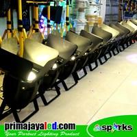 Lampu Panggung Paket Set 12 Fresnel LED 200w 2in1 Spark