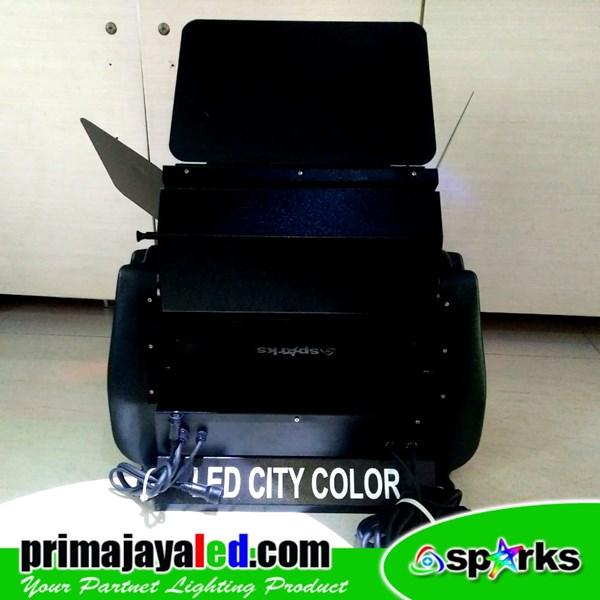 Lampu LED City Color RGB Spark