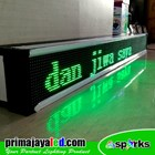 Running Text LED 197 X 21cm Hijau 3