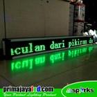 Running Text LED 197 X 21cm Hijau 4