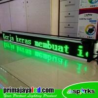 197 X 21cm LED Running Text Green