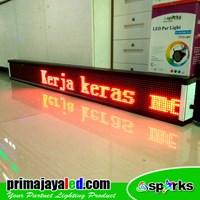 Beli Running Text LES 197 X 21cm Merah 4