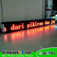 Distributor Running Text LES 197 X 21cm Merah 3