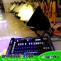 Lampu Panggung Paket Set 6 Fresnel 200w DMX Pro 2024 Spark