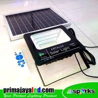 Jual Lampu Sorot LED Solar Panel Set 50 Watt 2
