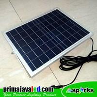 Beli Lampu Sorot LED Solar Panel Set 50 Watt 4