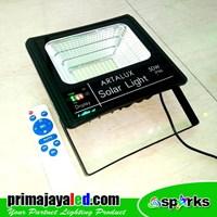 Distributor Lampu Sorot LED Solar Panel Set 50 Watt 3