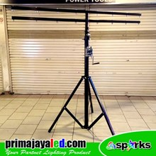 Standing 4 Meter Tripod LED Pulley