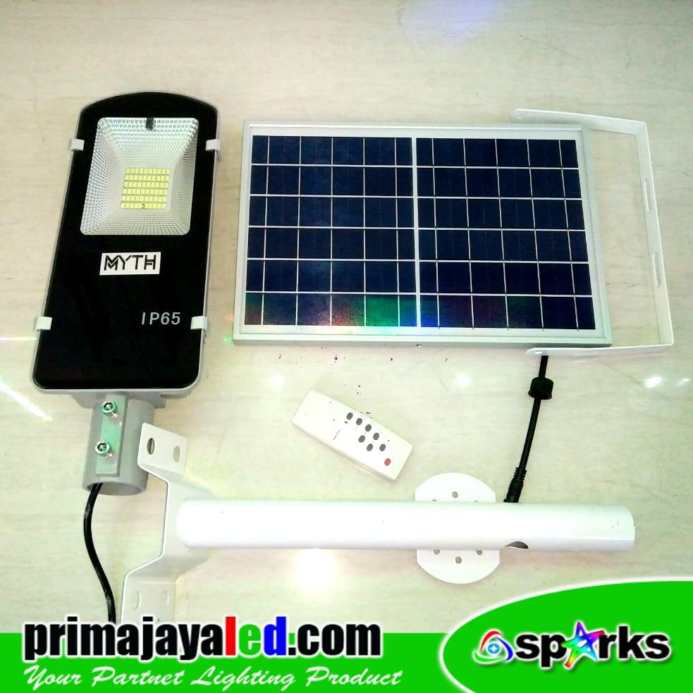 Jual Lampu Jalan PJU LED Set Sollar Panel 30W Harga Murah
