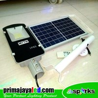 Beli Lampu Jalan PJU LED  Set Sollar Panel 30W 4