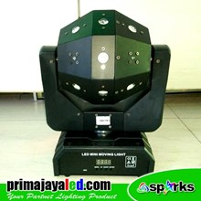 Moving LED Ball Laser Strobo Spark