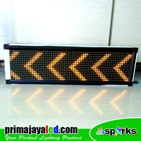 Running Text LED 69 X 21cm Kuning