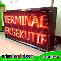 Sell LED Running Text 69 X 37 cm Red 2