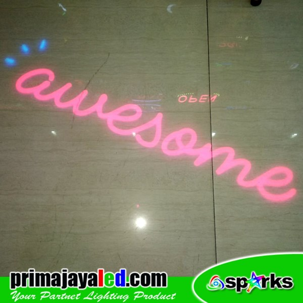Custom Logo LED 50W Awesome