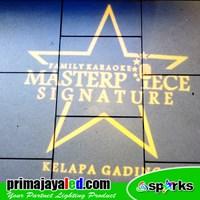 Indor Custom Logo LED Masterpiece