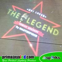 Custom Projector The Legend LED Logo