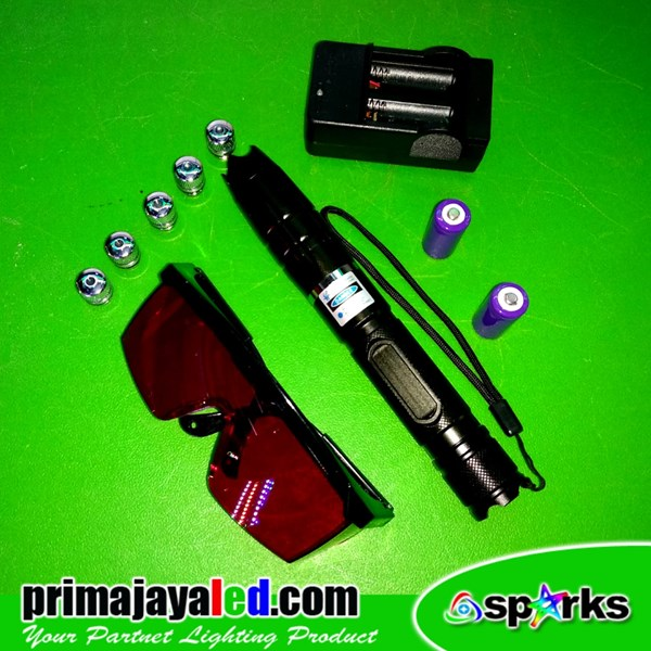 Big Laser Pointer Biru 450mnw