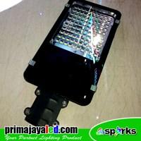 Lampu Jalan PJU LED Body Hitam SMD 50 Watt