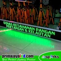 Jual Running Text LED 197cm X 21cm Hijau 2