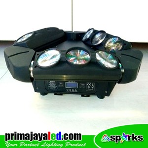 Lampu Moving Head Spider Robot Spark