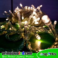 100 Light Warm White Christmas Tumbler Christmas LED Lights
