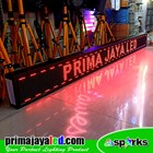 Running Text LED 229 × 21 Merah 2