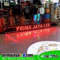 LED Running Text 229 × 21 Red