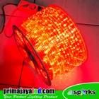 Lampu LED Selang Model Bulat Merah IP 65 Outdoor 1