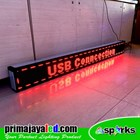 Running Text Outdoor Merah 197cm x 21cm  4