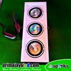 Lampu LED Downlight COB 3 x 12 Watt 3