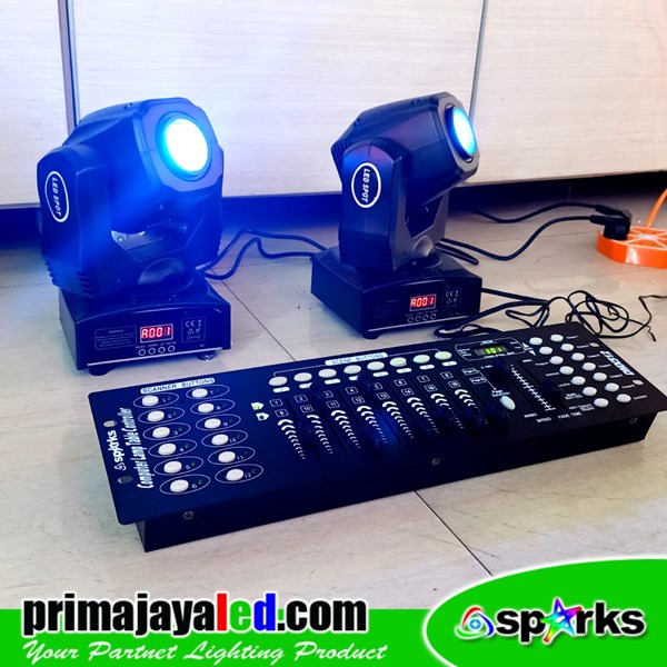 Paket Mini Moving 60 Watt LED DMX 192