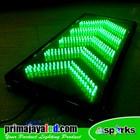 LED Sign Model Panah Hijau 2