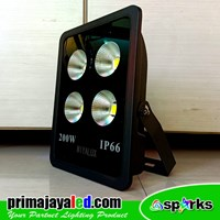 Lampu Floodlight 200 Watt LED IP 66 Outdoor