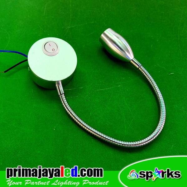 Lampu Meja Flexible 3 Watt LED