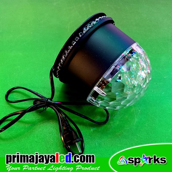 Bola Disko LED 3 Watt RGB