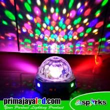 Bola Disko Sparks 36 Watt LED RGB