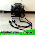 PAR Fresnel COB 200 Watt 2in1 Body Hitam 4 Kabel 4