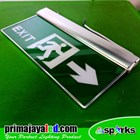 LED Sign Exit Emergency Panah 2 Sisi 1