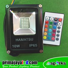LED Sorot Outdoor 10 Watt RGB